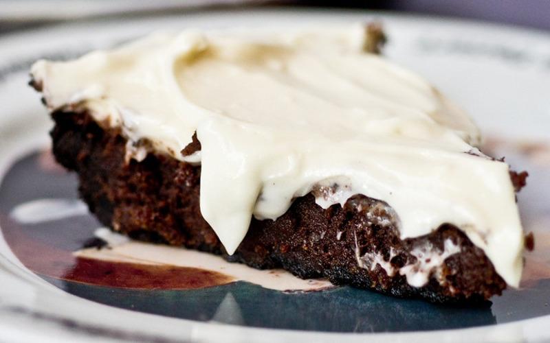 brownie au chocolat et au kiri recette de brownie au chocolat et au kiri. Black Bedroom Furniture Sets. Home Design Ideas