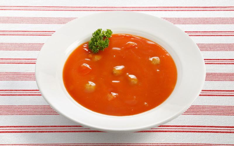 Soupe aux boulettes de kefta