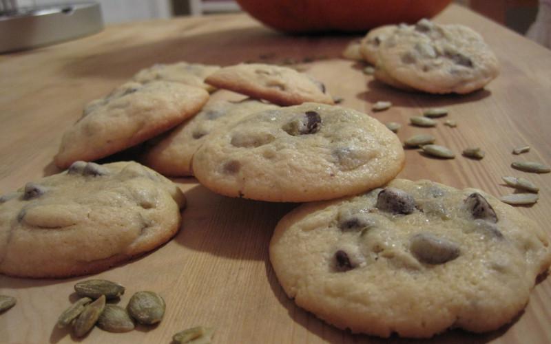 Biscuits au chocolat et à la menthe et vanille