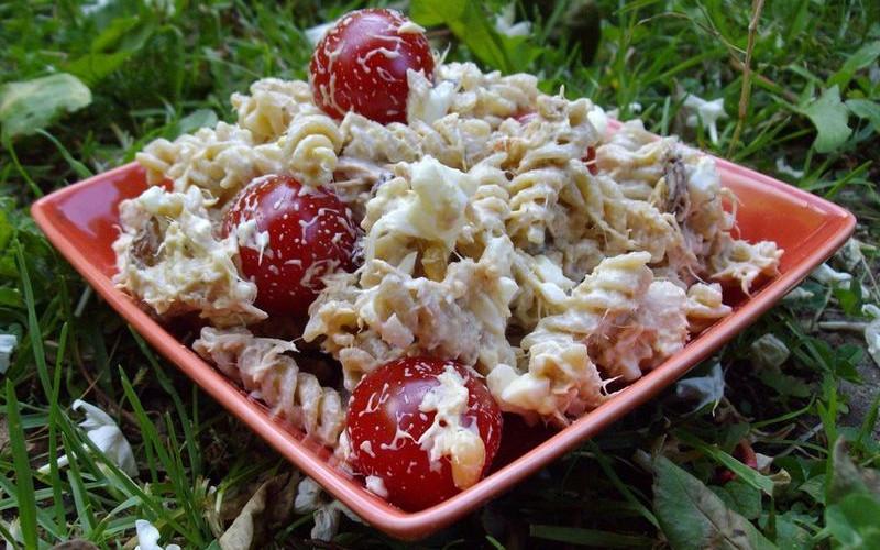 salade de p 226 tes froides au thon recette de salade de p 226 tes froides au thon