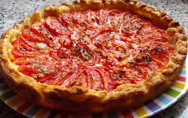 tarte au fromage et aux tomates recette de tarte au fromage et aux tomates. Black Bedroom Furniture Sets. Home Design Ideas