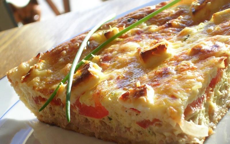 Tarte au thon et fromage