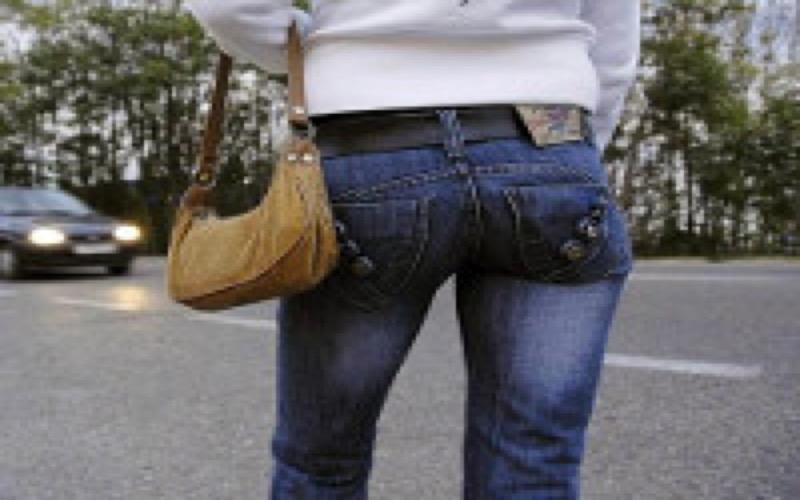 Prostituée en fourgon
