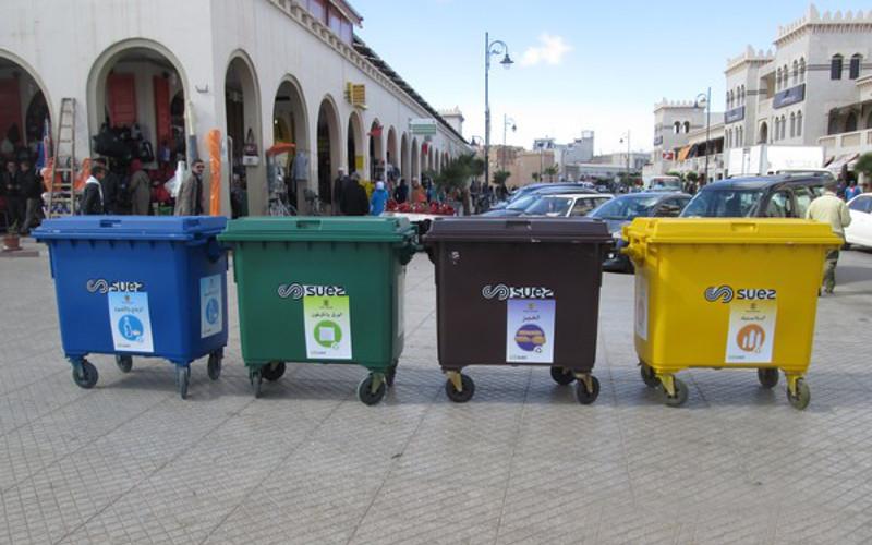 la ville d oujda se met au recyclage des d chets m nagers. Black Bedroom Furniture Sets. Home Design Ideas