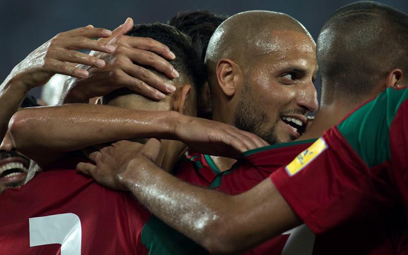 football   match maroc