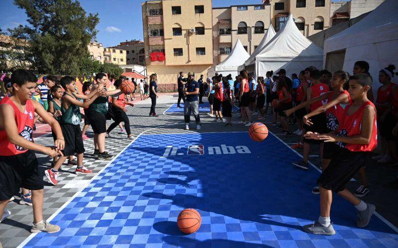 La Maroc bénéficie d'un programme NBA Jr