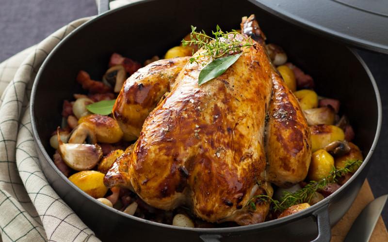 poulet aux oignons grelots recette de poulet aux oignons grelots. Black Bedroom Furniture Sets. Home Design Ideas