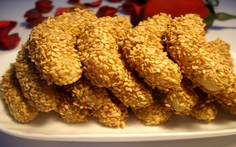 Gâteaux Aux Graines De Sésame Recette De Gâteaux Aux Graines De Sésame