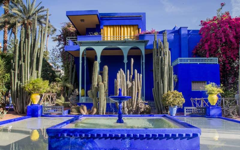 Jardin Majorelle à Marrakech ouvre en faisant un effort ...