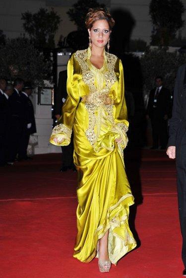 Moroccan Princess Lalla Soukaina Caftan