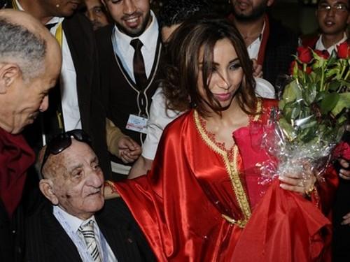 Dounia Batma, finaliste 2012 d'Arab Idol, au Maroc