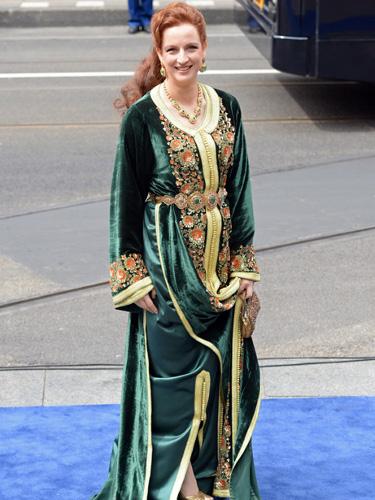 Photos de lalla salma à l'intronisation du roi willem alexander des